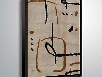 Brushstone Aubergine by Scott Medwetz Framed Canvas - 0MED822A0810F