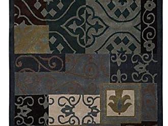 Linon Linon Trio Collection Blue & Gray 8 x 10 Blue