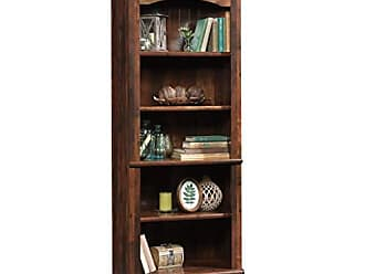 Sauder Sauder 420477 Harbor View Library, L: 27.21 x W: 17.48 x H: 72.24, Curado Cherry finish