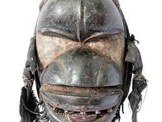 Novica Ivoirian wood mask, Spirit of the Rain - Unique Ivory Coast Wood Mask