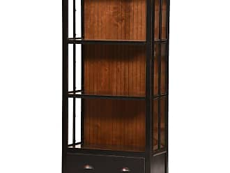 Eagle Furniture West Winds 36 in. Bookcase with Drawer Tempting Turquoise Concord Cherry - WWBC711736TTCC