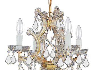 Crystorama Maria Theresa 4-Light Hand Cut Crystal Mini Chandelier