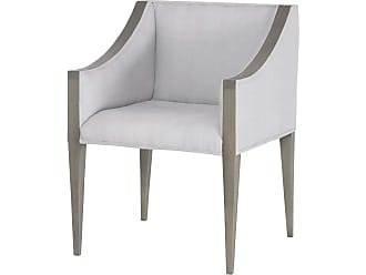 Dimond Home Ashley Side Chair In Waterfront Grey Stain With Morning Mist Linen Upholestery