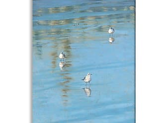 Gallery Direct Threes Company Indoor/Outdoor Canvas Print by Rose Hohenberger, Size: Medium - NE73502