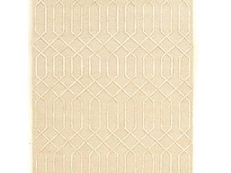 Linon Linon Aspire Collection Wool Clara Synthetic Rugs 8X 11 Off/White