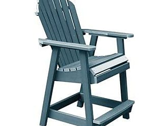 highwood Highwood Eco-friendly Hamilton Counter-Height Deck Chair (Nantucket Blue)