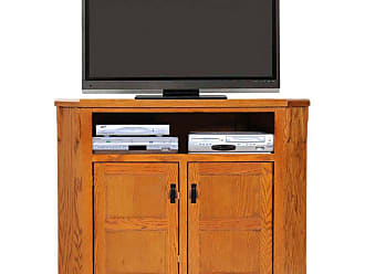 American Heartland 50 in. Promo Oak Corner TV Stand - Assorted Finishes - 88737LT