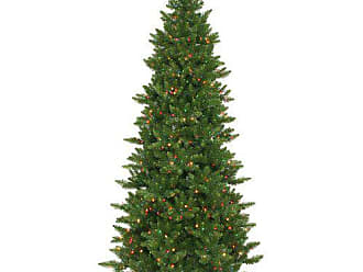 Vickerman Camdon Slim Tree with 700 Light, 7.5-Feet by 45-Inch, Multicolored