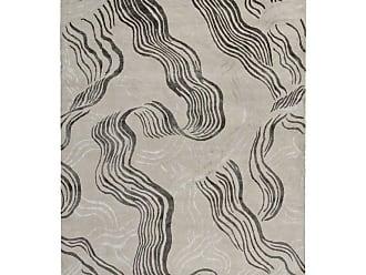 Kelly Wearstler Wake Hand-knotted 6x4 Rug In Wool And Silk By Kelly Wearstler