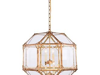Elegant Furniture & Lighting Elegant Lighting Gordon 1514D19 Pendant Light - 1514D19GI