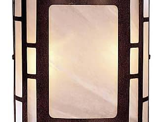 Minka Lavery Lighting 346-14 2 Light Wall Sconce in Nutmeg finish