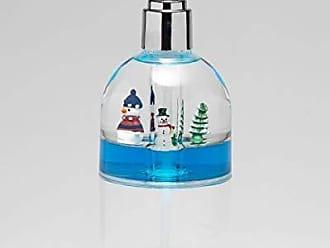 Ben&Jonah Ben & Jonah Clear Acrylic Lotion Pump with Floating Snowman, Color Blue Splash Collection by Ben&Jonah