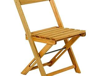 Mão & Formão Cadeira Dobrável Boteco - JatobáJatobá