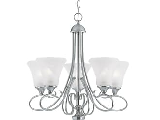Thomas Lighting SL8115 5 Light Up Lighting Chandelier from the Elipse