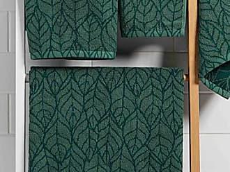 Simons Maison Foliage jacquard towels
