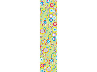 Ideal Decor Flying Bubbles Mint Wall Stripes - DM74509