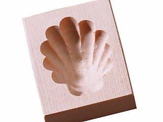 in Legno di Acero Birkmann 340237 Mattarello con 12 Motivi ampiezza mattarello 15,5 cm /ø 5,5 cm