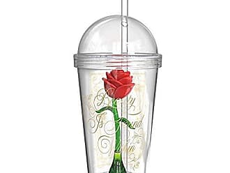 Zak designs BUBA-S960 Beauty And The Beast Kids Tumbler, 22 oz, Enchanted Rose