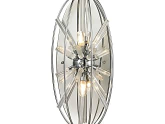 Elk Lighting 11560/2 Twilight 2 Light Wall Sconce Polished Chrome