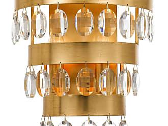 Crystorama Perla 2 Light Antique Gold Sconce
