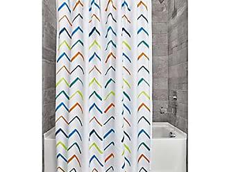 180 x 200 cm mehrfarbig iDesign 43198EU Beep Duschvorhang