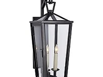 Visual Comfort Darlana Tall Outdoor Wall Bracket Lantern