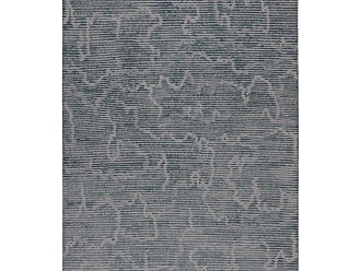 Kelly Wearstler Staccato Steel Hand-knotted 12x9 Rug In Wool And Silk By Kelly Wearstler