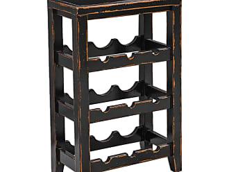 Uttermost Halton Wine Rack Table