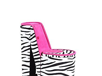Ore International ORE International HBB1840 High Heel Shoe Hidden Jewelry Box, Zebra Print
