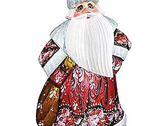 Debrekht Old World Walking Tall Hand-Painted Wood Carving G