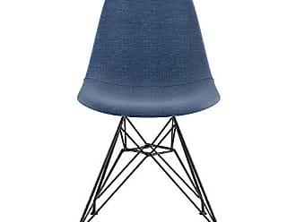 NyeKoncept 331006EM3 Mid Century Eiffel Side Chair, Dodger Blue