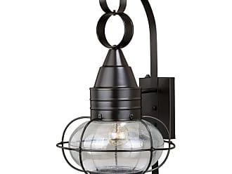 Vaxcel Lighting T0282 Chatham Brass Single Light 22 High Outdoor Wall