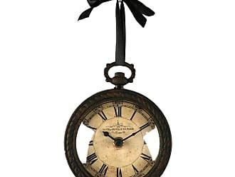 Zentique 5.25 in. Iron Wall Clock - PC020