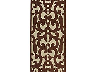 Kaleen FSR04-106-26710 A Breath of Fresh Air Machine Made Polypropelyne Rug, 2 6 x 7 10, Terracotta