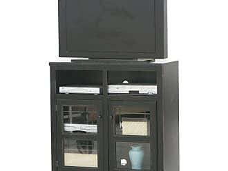 Eagle Furniture Savannah Plain Glass Door 39 in. Wide TV Console - 92837RPTT