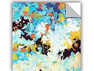 ArtWall Jan Weisss Floral Garden 2, Removable Wall Art Mural 14X14