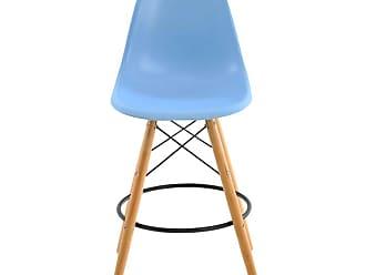 Rivatti Banqueta Eiffel DSW Eames sem Braço Azul