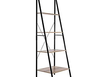 Avalon Home Well Traveled Living 62758 Tribeca A-Frame Ladder Shelf Bookshelf, Brown