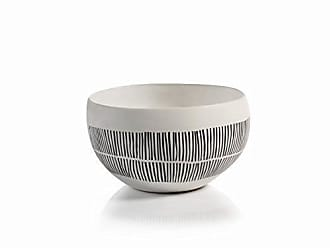 Zodax Marquesa 10.5 Diameter Ceramic Decorative Bowl