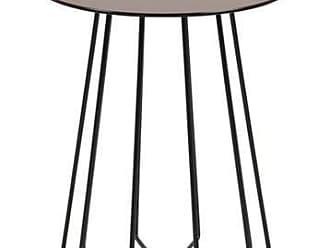 WOHNLING Mattis Beistelltisch Set 44x50x44 cm Eisen Kupfer//Messing//Zink