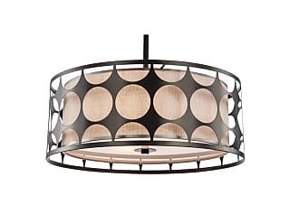 Woodbridge Lighting 19920 Fleming 3 Light 17 Wide Drum Chandelier
