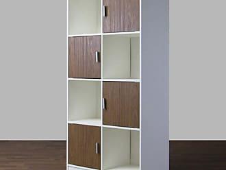 Baxton Studio Chateau Bookcase - WI5373