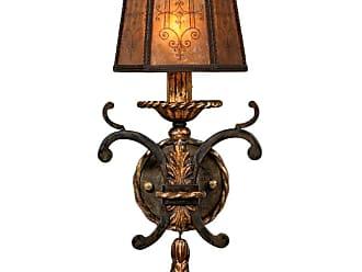 Fine Art Lamps 406850ST Epicurean Single-Light Wall Sconce with