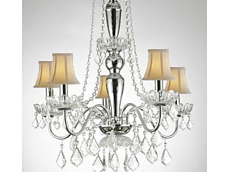 Harrison Lane J2-1136 5 Light 22-1/2 Wide Crystal Chandelier with