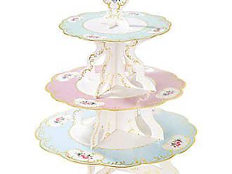 2.5/x 17/x 16.5/cm 12/Pezzi Carta Talking Tables Truly Chintz 17,8/cm Piccola Piastra 4/Design con Lamina d Oro Multicolore