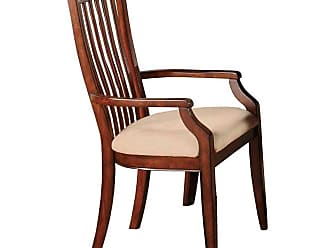 Winners Only Topaz Slat Back Dining Arm Chair - Set of 2 - WIN263-1