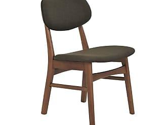 Rivatti Cadeira Érica com Estofado Marrom