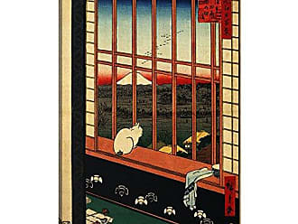 iCanvas ART 1 Piece Asakusa Ricefields and Torinomachi Festival, 1857 Canvas Print by Ando Hiroshige, 0.75 x 18 x 26-Inch