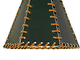 Meyda 24176 FauLeather Green Hexagon Replacement Shade