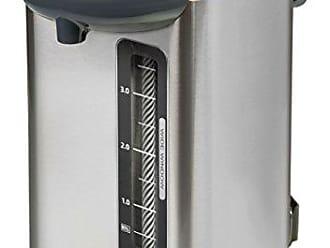 Zojirushi CD-WHC40XH Micom Water Boiler & Warmer, 135 oz, Stainless Gray